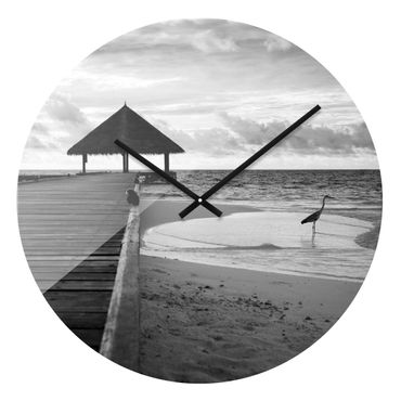 Designuhr Tropical Beach – Bild 1