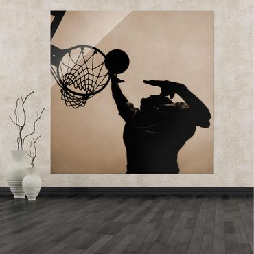 Glasbild Basketball – Bild 2