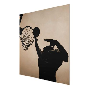 Glasbild Basketball – Bild 6