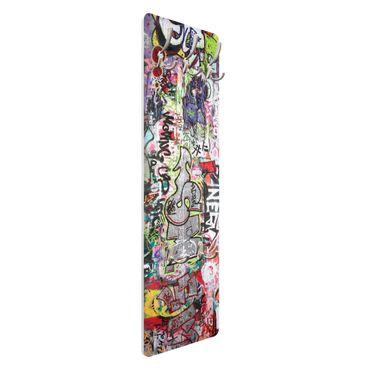 Wandgarderobe Grafitti Wandbilder Kunstdruck Art Bild Wandgarderoben Abstrakt Kunst Fotodrucke Kleidung Foto Decoration schöner wohnen Modern Bilder Drucken Panorama Nr.76 II