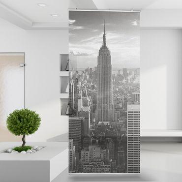 Raumteiler | Gardine Manhattan Skyline - 120 x 250 cm