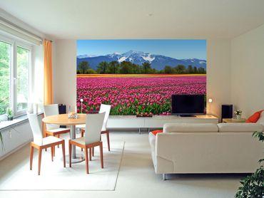 Fototapete Tulips Wand Bild Dekoration Modern XXL Bahn No.WG_00137 – Bild 2