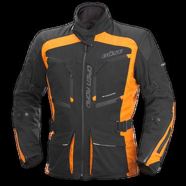 Büse Open Road Evo Motorradjacke für Herren (schwarz / orange)