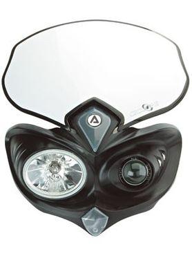 Acerbis Cyclope Scheinwerfer in schwarz – Bild 1