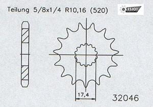 Regina Gas Gas EC 125 Kettensatz – Bild 3