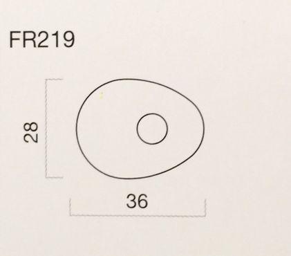 Rizoma FR219B Blinkeradapter Set aus schwarzem Kunststoff für Tiumph