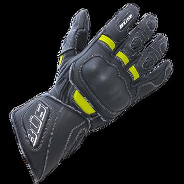 Büse Speed Motorradhandschuhe in schwarz / neongelb