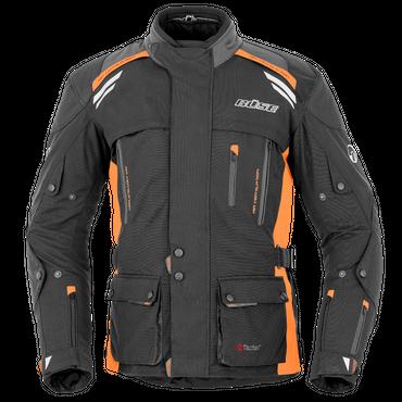 Büse Highland Motorradjacke für Herren (schwarz / orange)