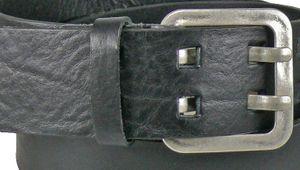 Ledergürtel in 5 cm Breite 3 Farben – Bild 2