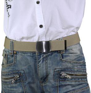 Elastischer Stoffgürtel 40mm Breite! Überlänge – Bild 15