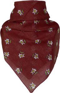 Bandana mit Edelweiss in 15 Farben aus Baumwolle – Bild 14