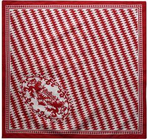 Bandana mit Bayrischer Raute in 2 Farben aus Baumwolle – Bild 1