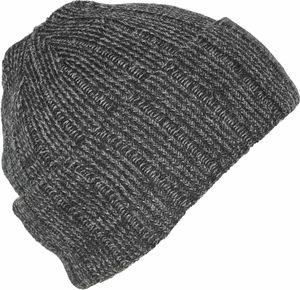 Dicke Strickmütze mit Wolle in 2 Farben – Bild 2