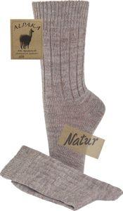 2 Paar flauschig warme Socken mit Alpakawolle für Damen und Herren – Bild 13