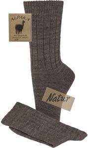 2 Paar flauschig warme Socken mit Alpakawolle für Damen und Herren – Bild 11