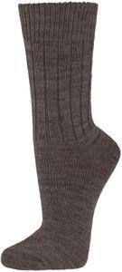 2 Paar flauschig warme Socken mit Alpakawolle für Damen und Herren – Bild 12