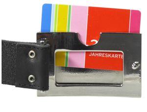 Tresorgürtel mit Kartenfach + Reißverschluß – Bild 4