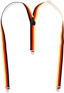 Hosenträger mit 3 extra starken  Clips Deutschland BRD