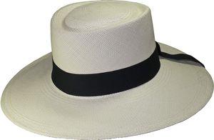 Edler Panamahut für Damen Modell Bolero – Bild 1