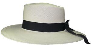 Edler Panamahut für Damen Modell Bolero – Bild 2