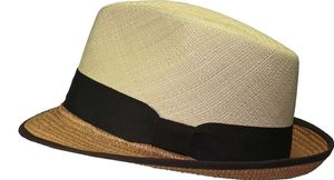 Eleganter Panamahut in Trilby Form – Bild 2