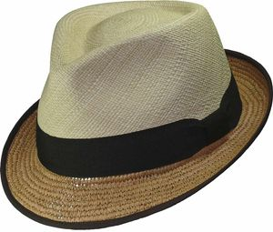 Eleganter Panamahut in Trilby Form – Bild 1