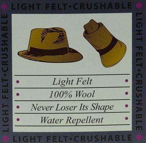 rollbarer Hut in 3 Farben – Bild 9