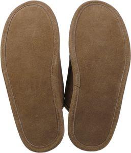 Extra dicke Pantoffeln aus Lammfell mit Ledersohle 2 Farben – Bild 9