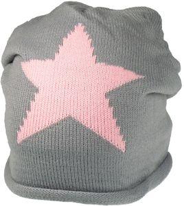 Strickmütze mit großem Stern in 6 Farben – Bild 12