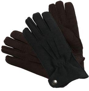 dicker Handschuh in echtem Lammfell für Herren – Bild 4