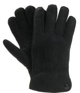 dicker Handschuh in echtem Lammfell für Herren – Bild 3