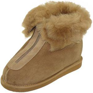32e24e82ab2d22 Extra dicke Lammfell Schuhe mit Klettverschluss geschlossen ...