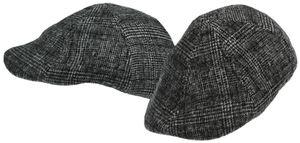 Gatsby Cap in dunkelgrau – Bild 1