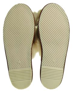 Peep Toe Pantoffeln für Damen aus bestem Lammfell – Bild 4