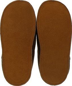 Extra dicke Lammfell Pantoffeln mit Ledersohle für Damen und Herren – Bild 6