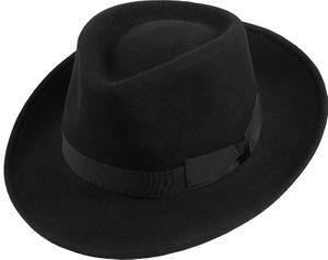 Wasserabweisend und knautschbar Hut in klassischer Form – Bild 2