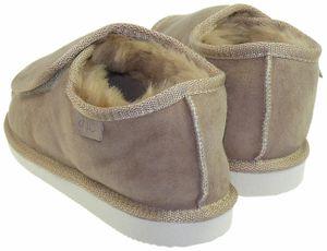 Extra dicke Lammfell Schuhe mit Klettverschluss – Bild 4
