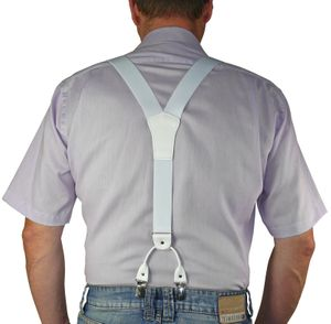 Rollenzug Hosenträger mit 4 Clip – Bild 24