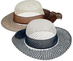 Runder Hut mit Stoffband