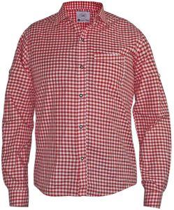 Kariertes Trachtenhemd für Trachtenlederhosen  – Bild 2