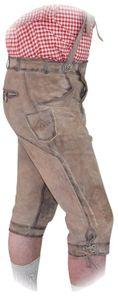 Kniebund Trachtenhose für Herren aus feinstem Wildbock – Bild 2