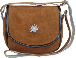 Trachtentasche in mittlerer Größe mit Edelweiß – Bild 7