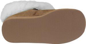 Hausschuhe aus Lammfell in 2 Farben mit fester Sohle – Bild 4