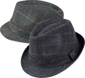 Trilby Hut gemustert in 2 Farben