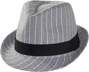 Trilby Hut mit Streifen in 3 Farben
