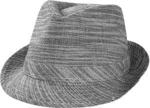 Trilby Hut meliert in 2 Farben