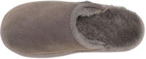 Extra dicke Lammfell Pantoffeln für Herren Flache Form – Bild 3