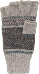 Halbfinger Handschuh  mit Norweger Muster Thinsulate für Damen – Bild 3