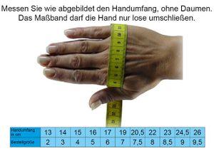 Handschuh mit Klappe und Norweger Muster Thinsulate für Damen – Bild 3