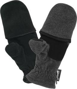 Fleece Handschuhe mit Thinsulate und Klappe Magnet